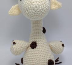 Model de crosetat girafa